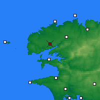 Nearby Forecast Locations - Brest - Map