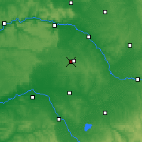 Nearby Forecast Locations - Châlons-en-Champagne - Map