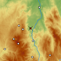 Nearby Forecast Locations - Clermont-Ferrand - Map