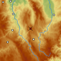 Nearby Forecast Locations - Sembadel - Map