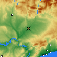 Nearby Forecast Locations - Lleida - Map