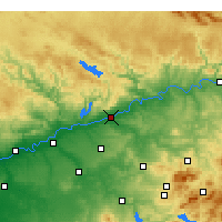 Nearby Forecast Locations - Córdoba - Map