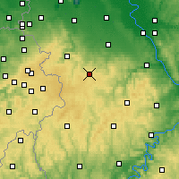 Nearby Forecast Locations - Nettersheim - Map