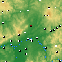 Nearby Forecast Locations - Friedberg - Map