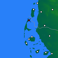 Nearby Forecast Locations - Sylt - Map