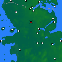 Nearby Forecast Locations - Eggebek - Map