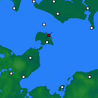 Nearby Forecast Locations - Marienleuchte - Map