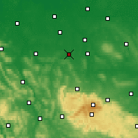 Nearby Forecast Locations - Salzgitter - Map