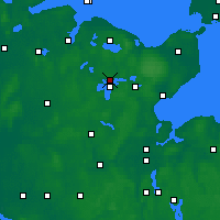 Nearby Forecast Locations - Plön - Map