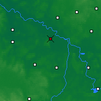 Nearby Forecast Locations - Seehausen - Map