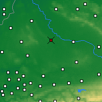 Nearby Forecast Locations - Münster - Map