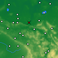 Nearby Forecast Locations - Minden - Map