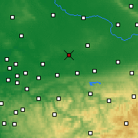 Nearby Forecast Locations - Hamm - Map