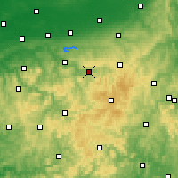 Nearby Forecast Locations - Meschede - Map