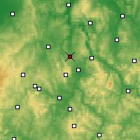 Nearby Forecast Locations - Calden - Map