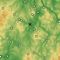 Nearby Forecast Locations - Fritzlar - Map