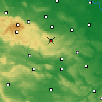 Nearby Forecast Locations - Harzgerode - Map