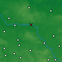 Nearby Forecast Locations - Wittenberg - Map
