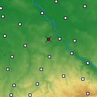 Nearby Forecast Locations - Oschatz - Map
