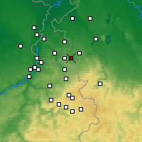 Nearby Forecast Locations - Aachen - Map
