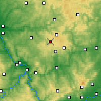 Nearby Forecast Locations - Westerwald - Map