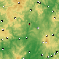 Nearby Forecast Locations - Marburg - Map