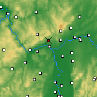 Nearby Forecast Locations - Wiesbaden - Map