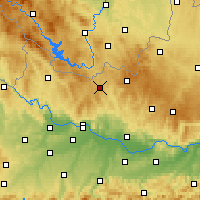 Nearby Forecast Locations - Freistadt - Map