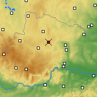 Nearby Forecast Locations - Allentsteig - Map