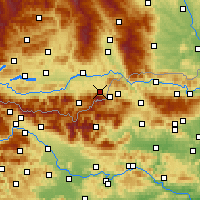 Nearby Forecast Locations - Feistritz ob Bleiburg - Map