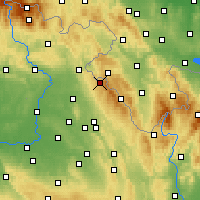 Nearby Forecast Locations - Polom - Map