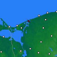 Nearby Forecast Locations - Dziwnów - Map