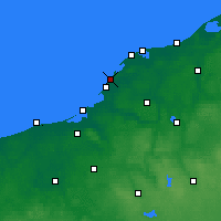 Nearby Forecast Locations - Darłowo - Map