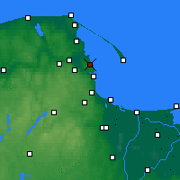 Nearby Forecast Locations - Kosakowo - Map