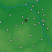 Nearby Forecast Locations - Brwinów - Map