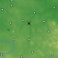 Nearby Forecast Locations - Sulejów - Map