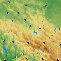 Nearby Forecast Locations - Lesko - Map