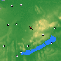 Nearby Forecast Locations - Pápa - Map