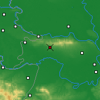 Nearby Forecast Locations - Sremska Mitrovica - Map