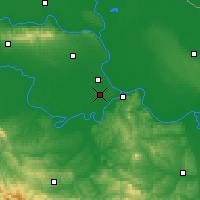 Nearby Forecast Locations - Surčin - Map