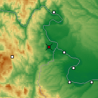 Nearby Forecast Locations - Negotin - Map