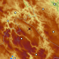 Nearby Forecast Locations - Pljevlja - Map
