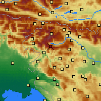 Nearby Forecast Locations - Vogel - Map