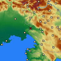 Nearby Forecast Locations - Nova Gorica - Map