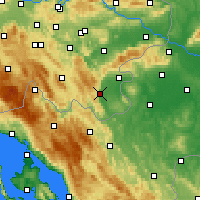Nearby Forecast Locations - Črnomelj - Map