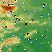 Nearby Forecast Locations - Krapina - Map