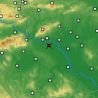 Nearby Forecast Locations - Zagreb - Map