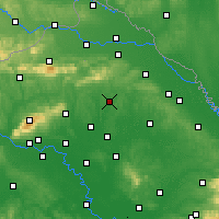 Nearby Forecast Locations - Križevci - Map
