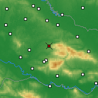Nearby Forecast Locations - Daruvar - Map