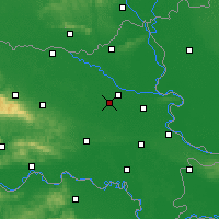 Nearby Forecast Locations - Čepin - Map